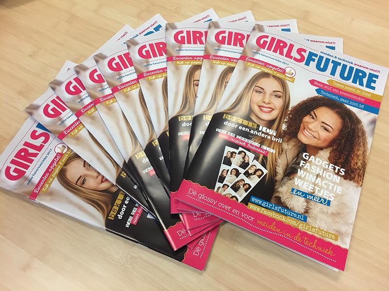 Nieuwe GirlsFuture toont meisjes de mogelijkheden van techniek