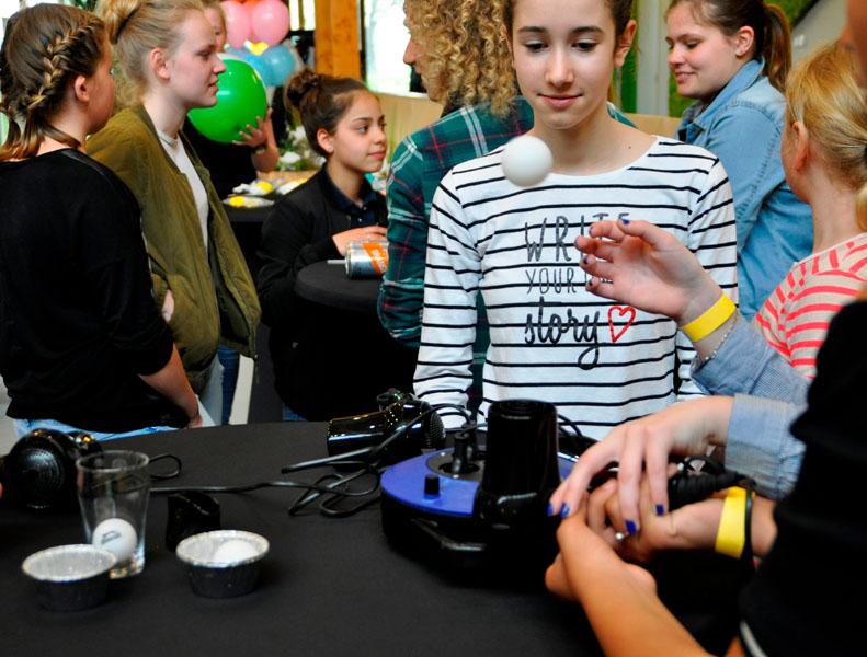 Technische bedrijven in Zeeland openen de deuren tijdens Girlsday 2018