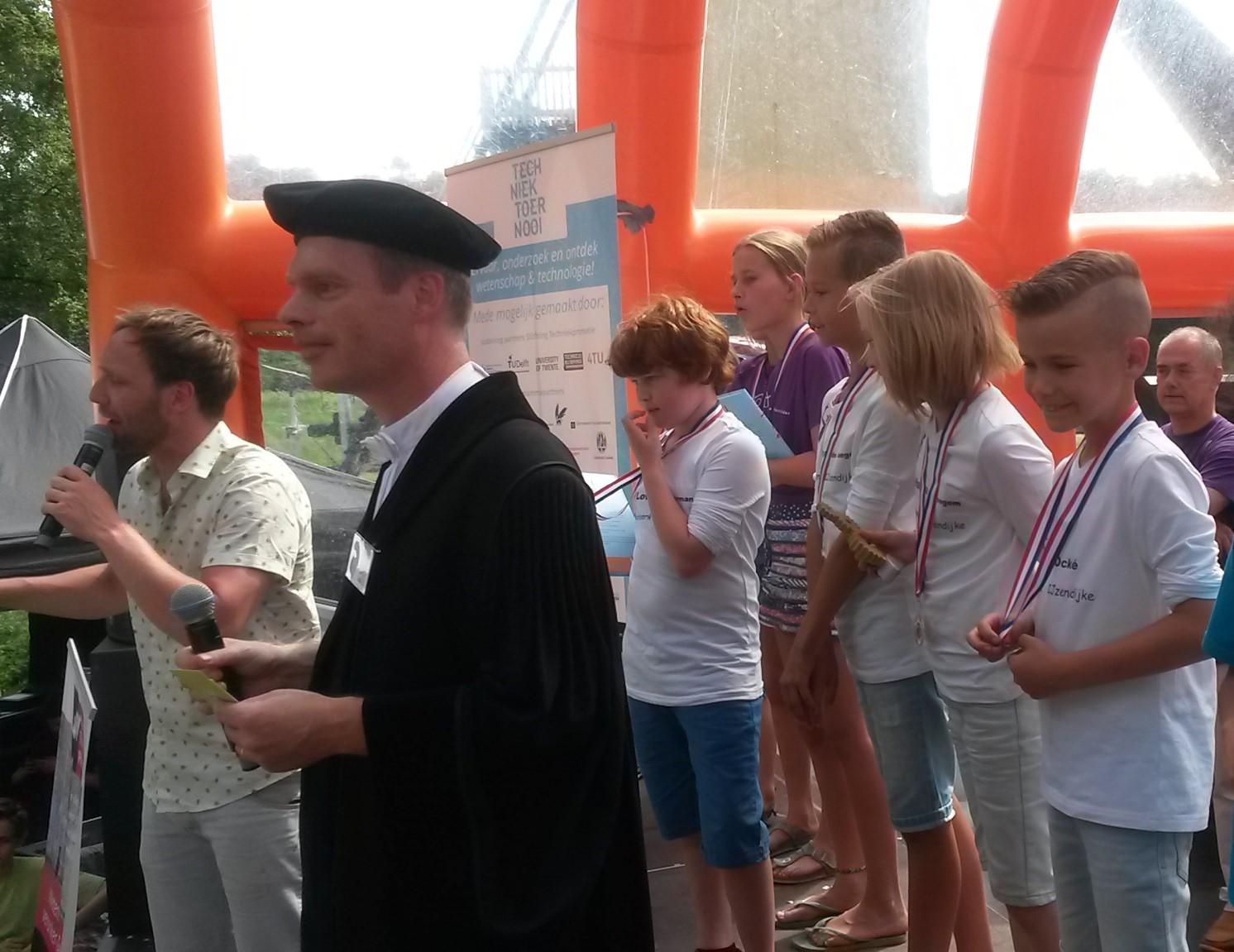 Zeeuws team in de prijzen bij landelijke finale TechniekToernooi