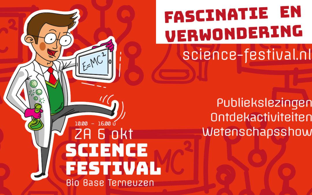 Science Festival: op ontdekkingstocht door de wereld van wetenschap en techniek