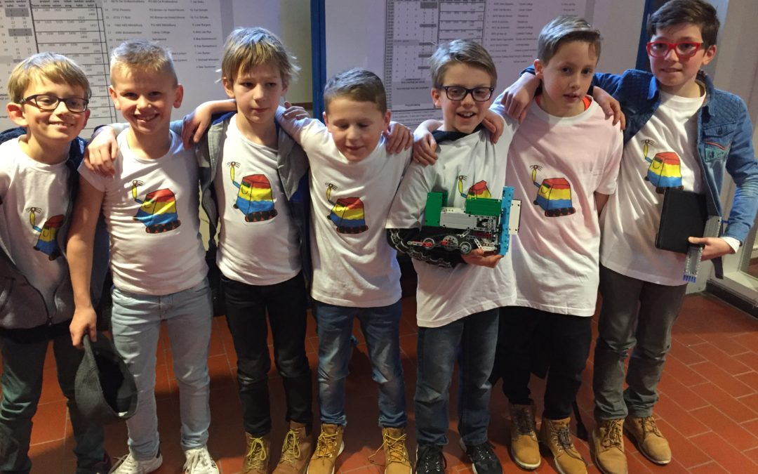 Spanning bij regiofinale FIRST® LEGO® League